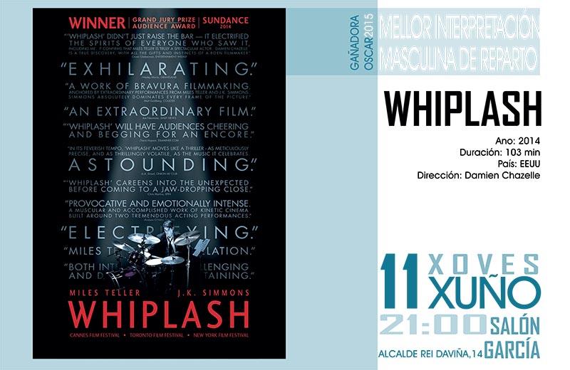 Whiplash - Cineclube Ádega